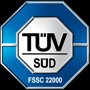 Certyfikat TUV FSSC 22000